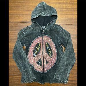 Jayli Hippie Peace Hoodie